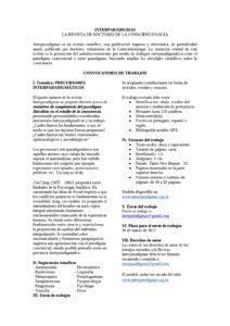 Convocatória de trabajos N.5